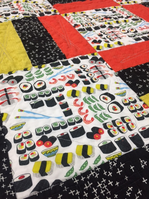 The Sushi Quilt is One of the First Quilt Kits Available Online